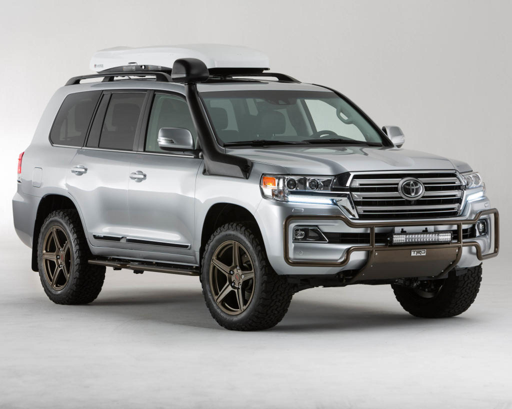 Тюнинг Toyota Land Cruiser 200 2016 от TRD (фото)