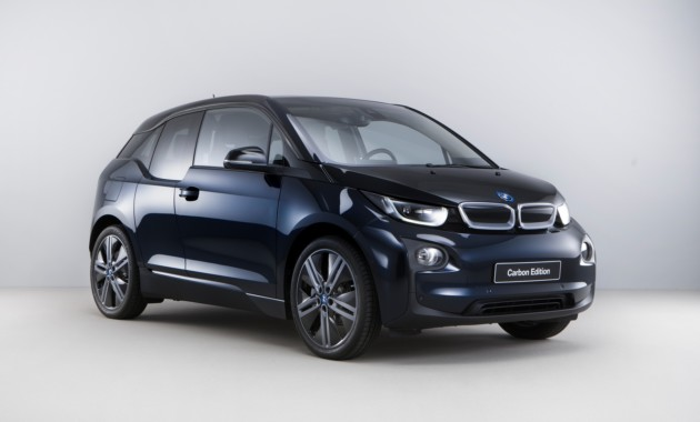 Представлен ситикар BMW i3 Carbon Edition